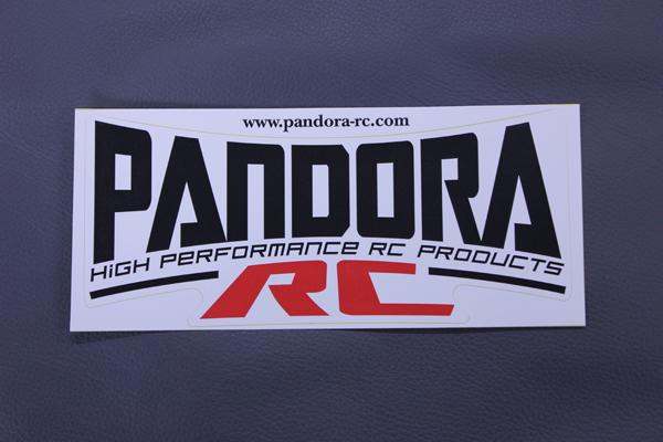 PANDORA RC ロゴステッカー