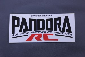 PANDORA RC Logo sticker