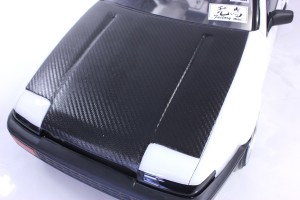Carbon Style Decal <Black>