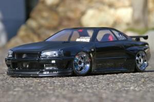 NISSAN SKYLINE R34 GT-R V-spec2