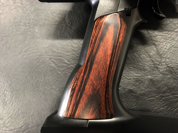 Wood grip for propo <brown>