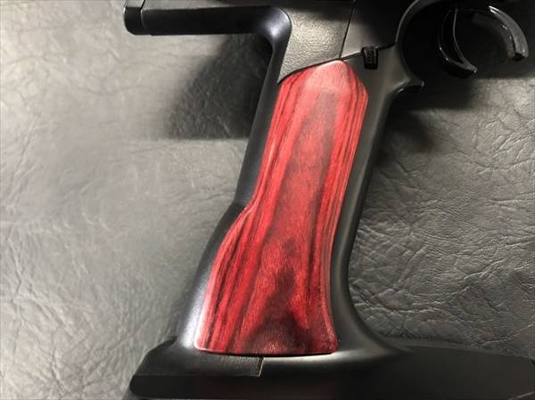 Wood grip for propo <red>