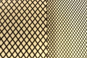 3D クロスメッシュデカール(ブラック)/ 3D Cross Mesh Decal (Black)