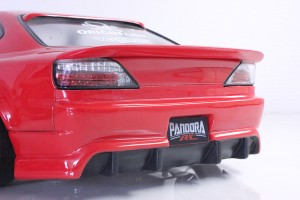 Rear wing spoiler ver.4 type A
