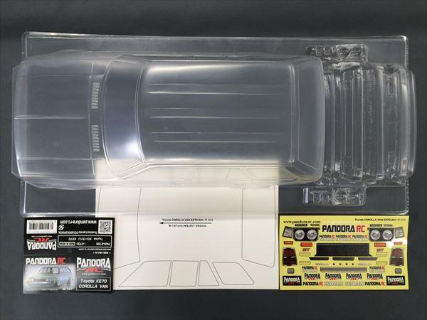 Toyota COROLLA VAN KE70